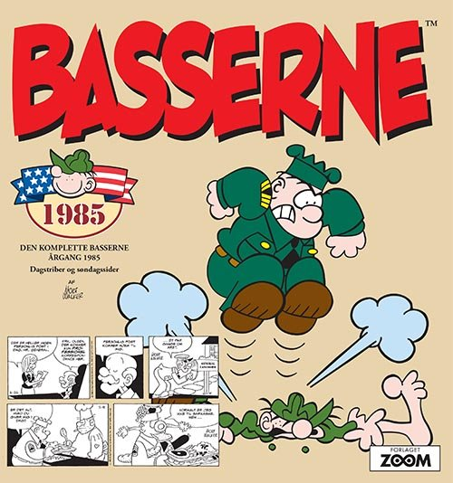 Image of   Basserne 1985 - Mort Walker - Tegneserie