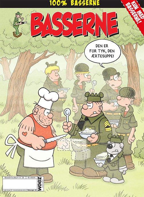 Image of   Basserne: Den Er Tyk, Den ærtesuppe - Mort Walker - Tegneserie