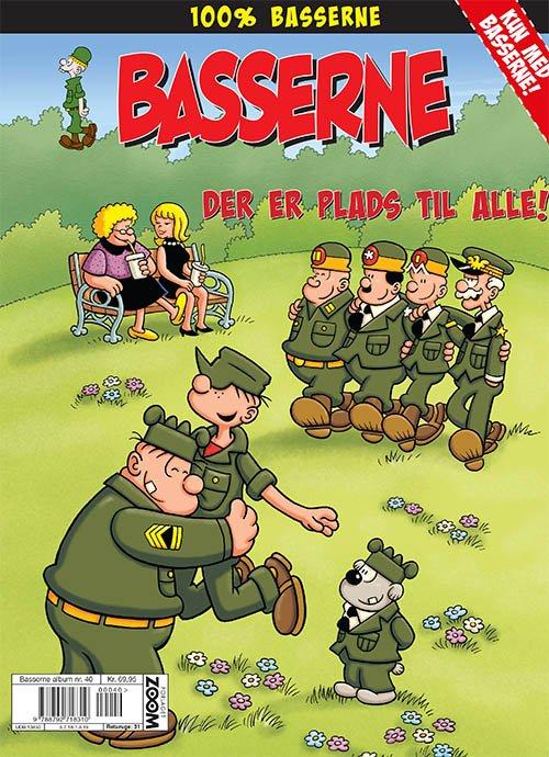 Image of   Basserne: Der Er Plads Til Alle! - Mort Walker - Tegneserie