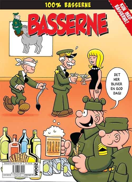 Image of   Basserne: Det Her Bliver En God Dag! - Mort Walker - Tegneserie