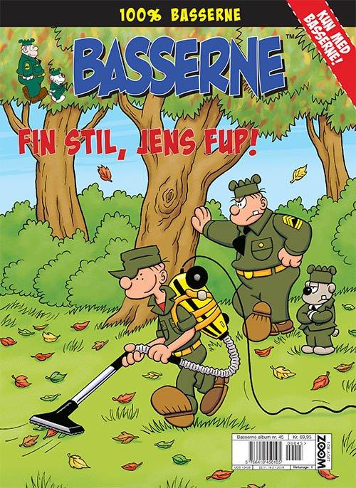 Image of   Basserne - Fin Stil, Jens Fup - Mort Walker - Tegneserie