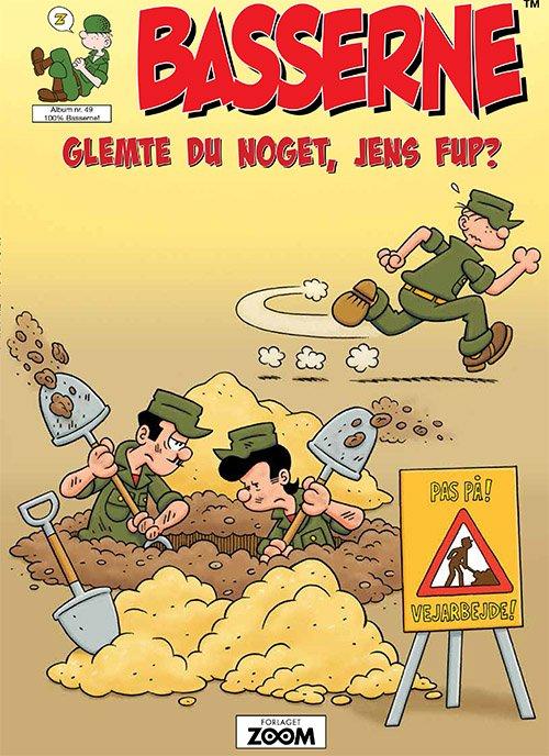 Image of   Basserne - Glemte Du Noget, Jens Fup? - Mort Walker - Tegneserie