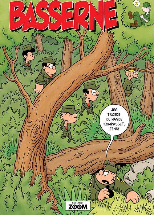 Image of   Basserne - Jeg Troede Du Havde Kompasset, Jens! - Mort Walker - Tegneserie