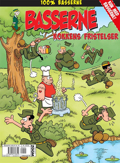 Image of   Basserne: Kokkens Fristelser - Mort Walker - Tegneserie