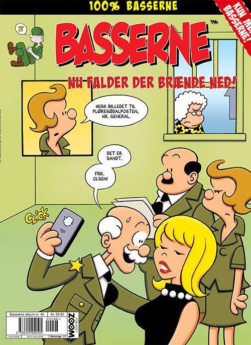 Image of   Basserne: Nu Falder Der Brænde Ned, Jens Fup! - Mort Walker - Tegneserie