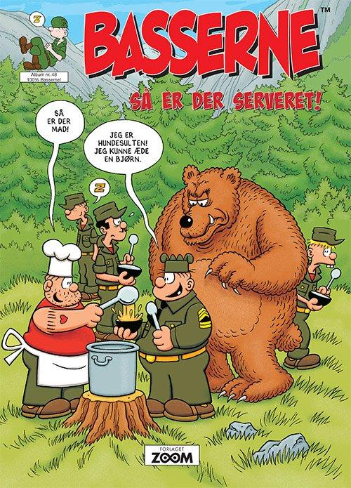 Image of   Basserne - Så Er Der Serveret - Mort Walker - Tegneserie