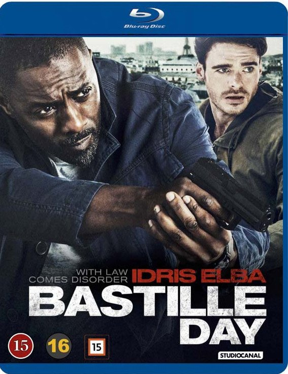 Image of   Bastille Day - Blu-Ray