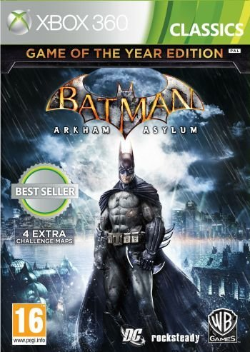 Image of   Batman: Arkham Asylum Game Of The Year Edition (classics) - Xbox 360