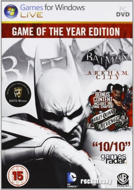 Image of   Batman: Arkham City - Game Of The Year Edition - PC