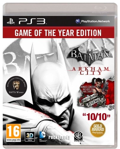 Image of   Batman: Arkham City - Game Of The Year Edition - PS3