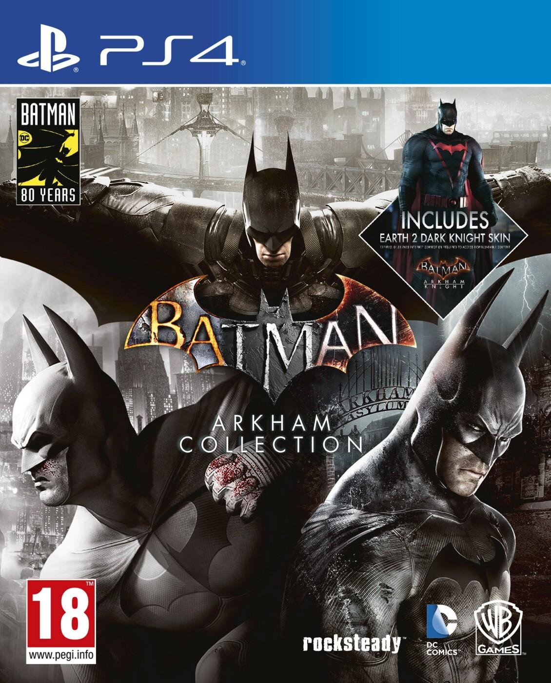 Image of   Batman Arkham Collection - PS4