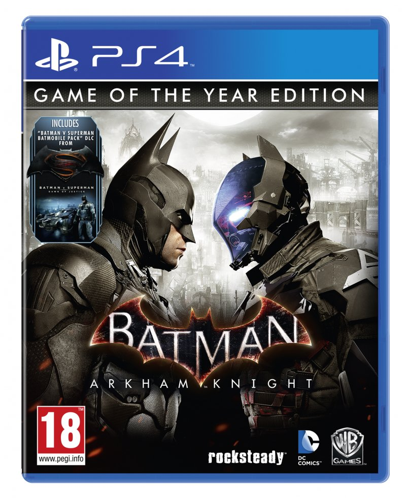 Image of   Batman: Arkham Knight (game Of The Year Edition) - PS4