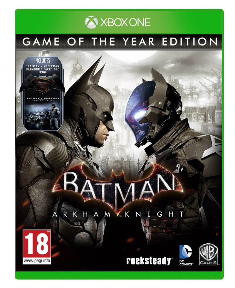 Image of   Batman: Arkham Knight (game Of The Year Edition) - Xbox One