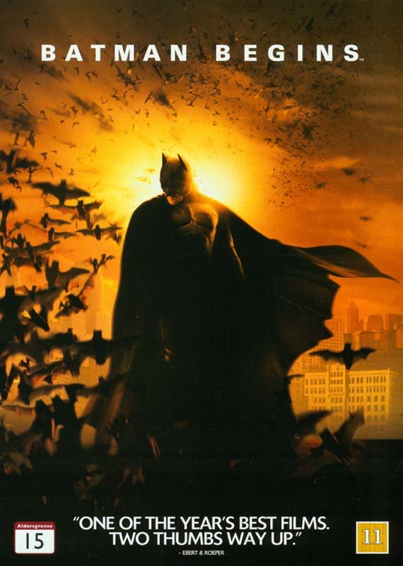 Image of   Batman Begins - DVD - Film