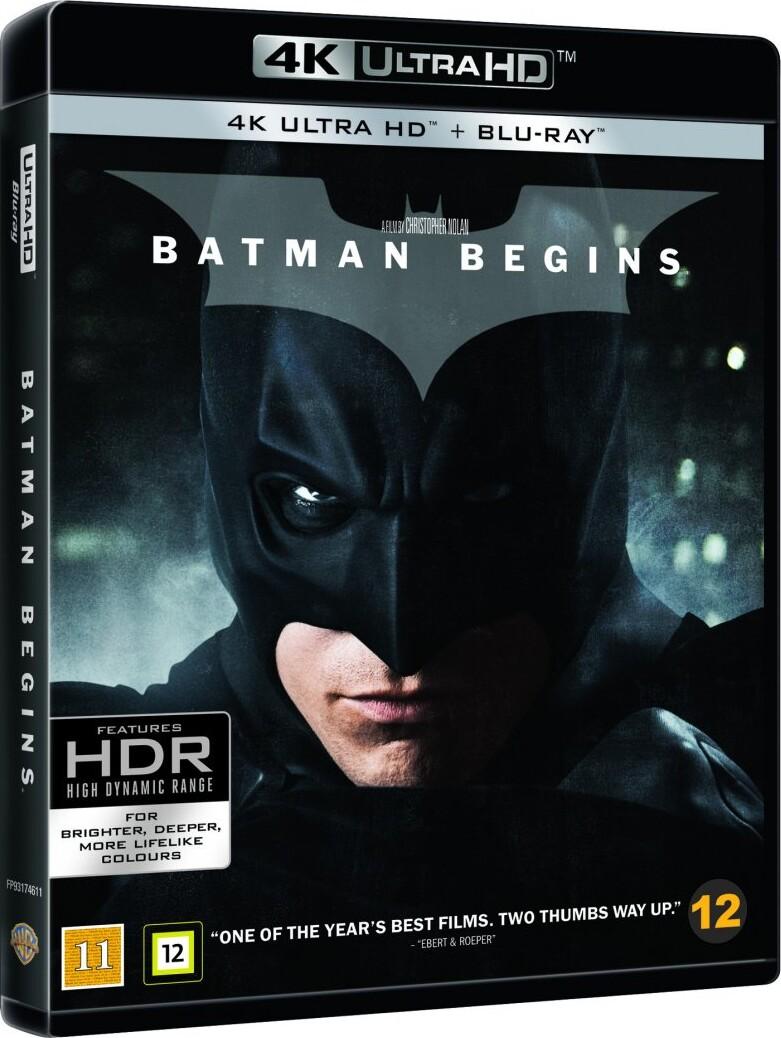 Billede af Batman Begins - 4K Blu-Ray