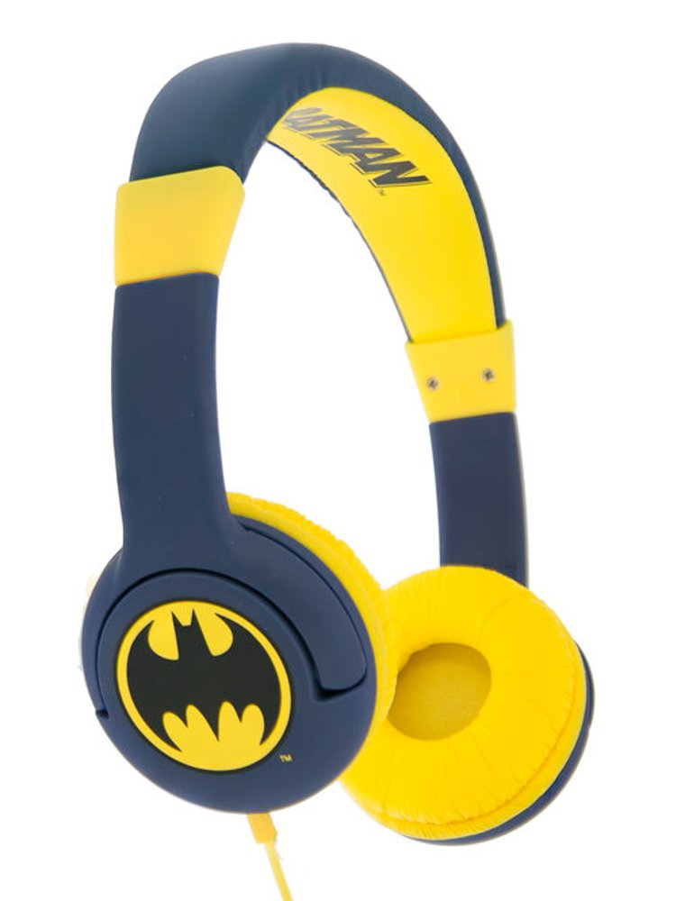Image of   Batman Headset - Caped Crusader - 3-7 år