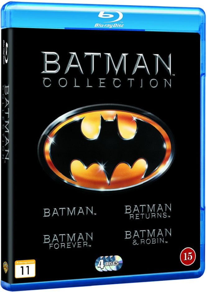 Image of   Batman // Batman Rerurns // Batman Forever // Batman And Robin - Blu-Ray