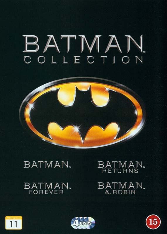 Image of   Batman // Batman Rerurns // Batman Forever // Batman And Robin - DVD - Film