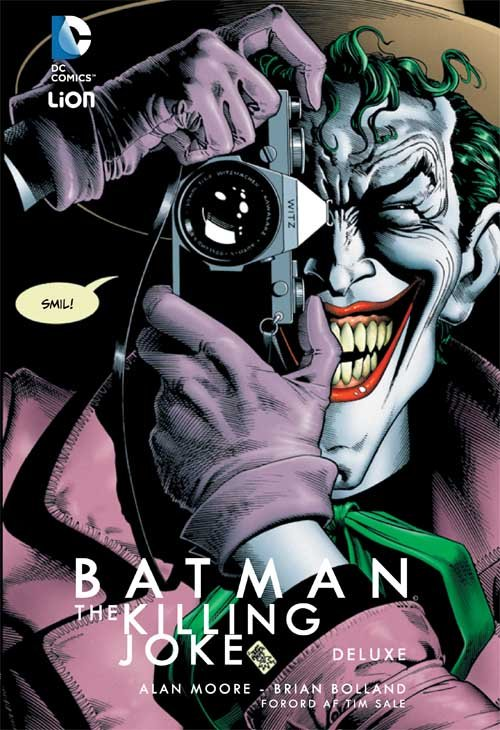 Image of   Batman Deluxe - Alan Morre - Tegneserie