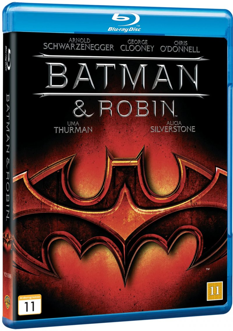 Image of   Batman And Robin / Batman Og Robin - Blu-Ray