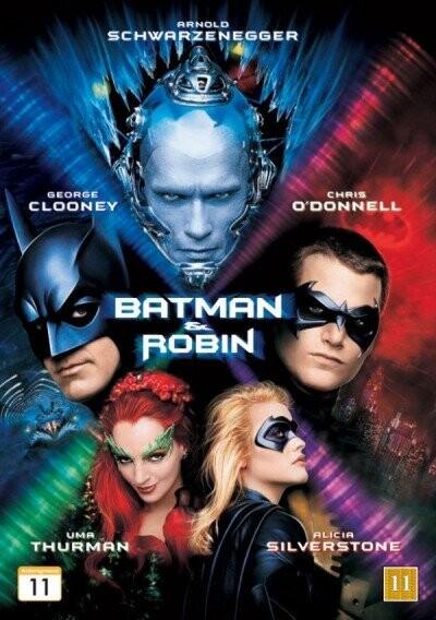 Image of   Batman And Robin / Batman Og Robin - DVD - Film