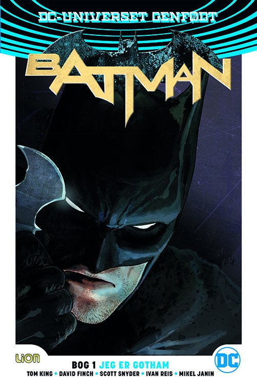 Image of   Batman Rebirth - Scott Snyder - Tegneserie