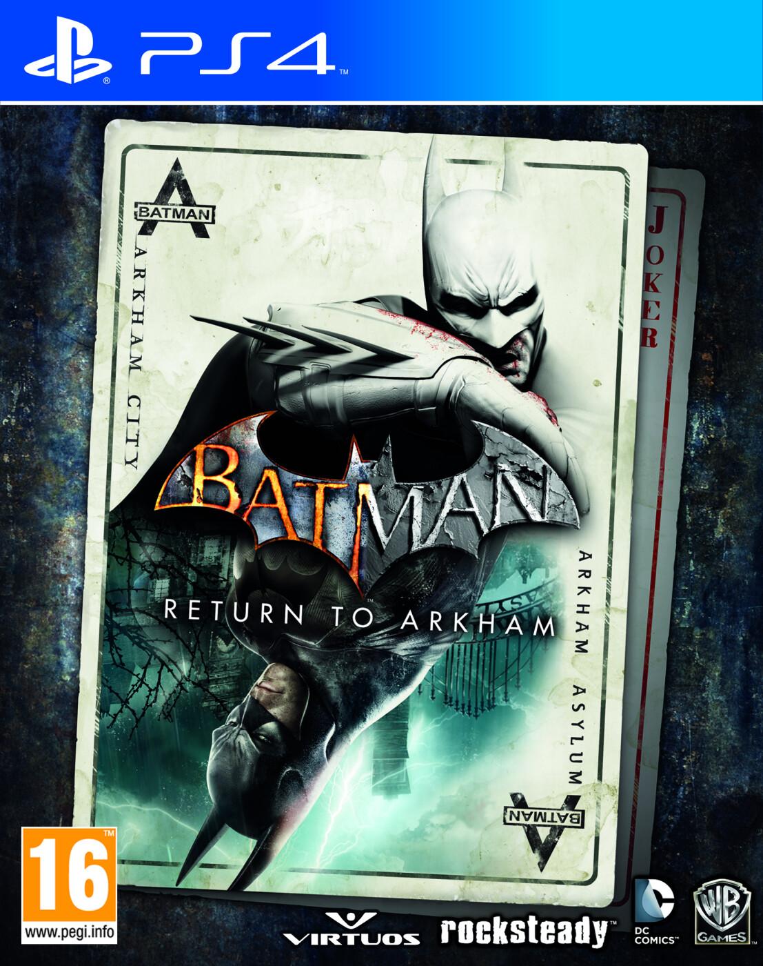 Image of   Batman: Return To Arkham - PS4