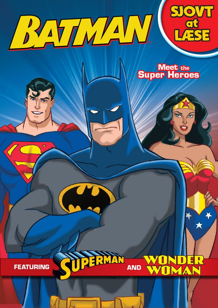 Batman: Sjovt At Læse - Michael Teitelbaum - Bog