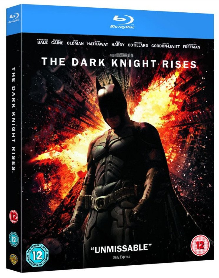 Image of   Batman - The Dark Knight Rises - Blu-Ray