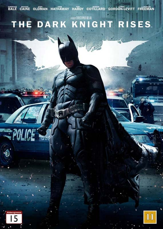 Image of   Batman - The Dark Knight Rises - DVD - Film