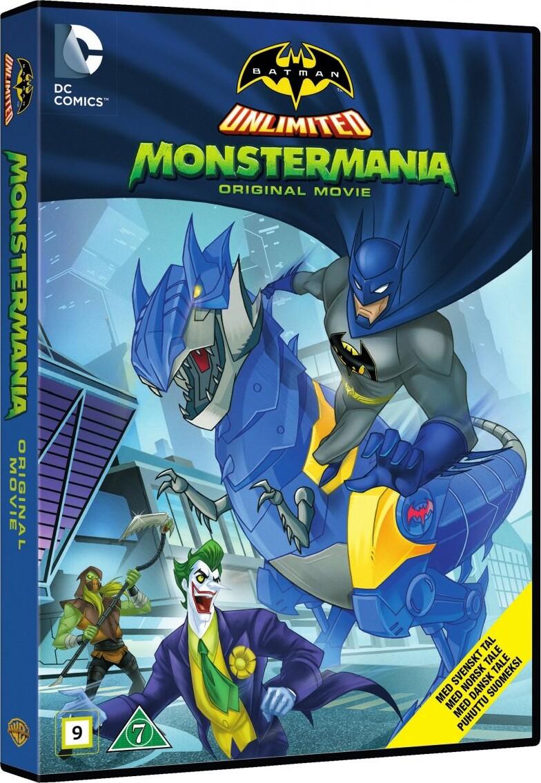 Batman Unlimited: Monstermania - DVD - Film