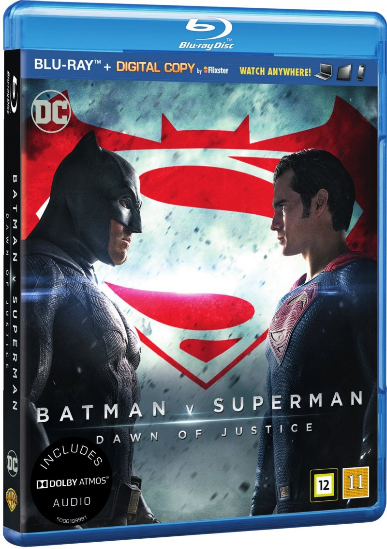 Image of   Batman Vs Superman: Dawn Of Justice - Blu-Ray