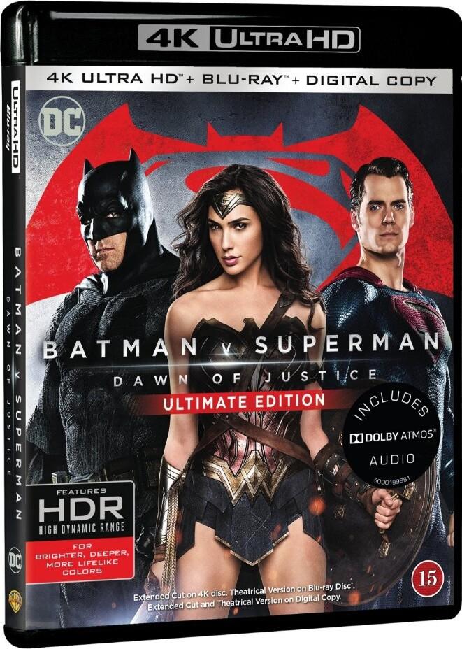 Image of   Batman Vs Superman: Dawn Of Justice - 4K Blu-Ray