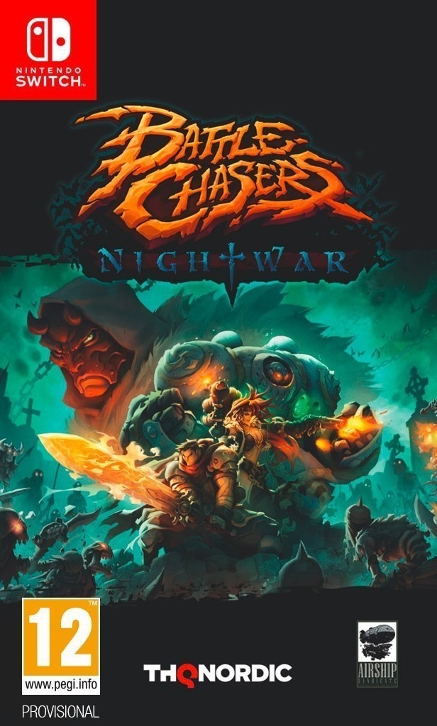 Image of   Battle Chasers: Nightwar - Nintendo Switch