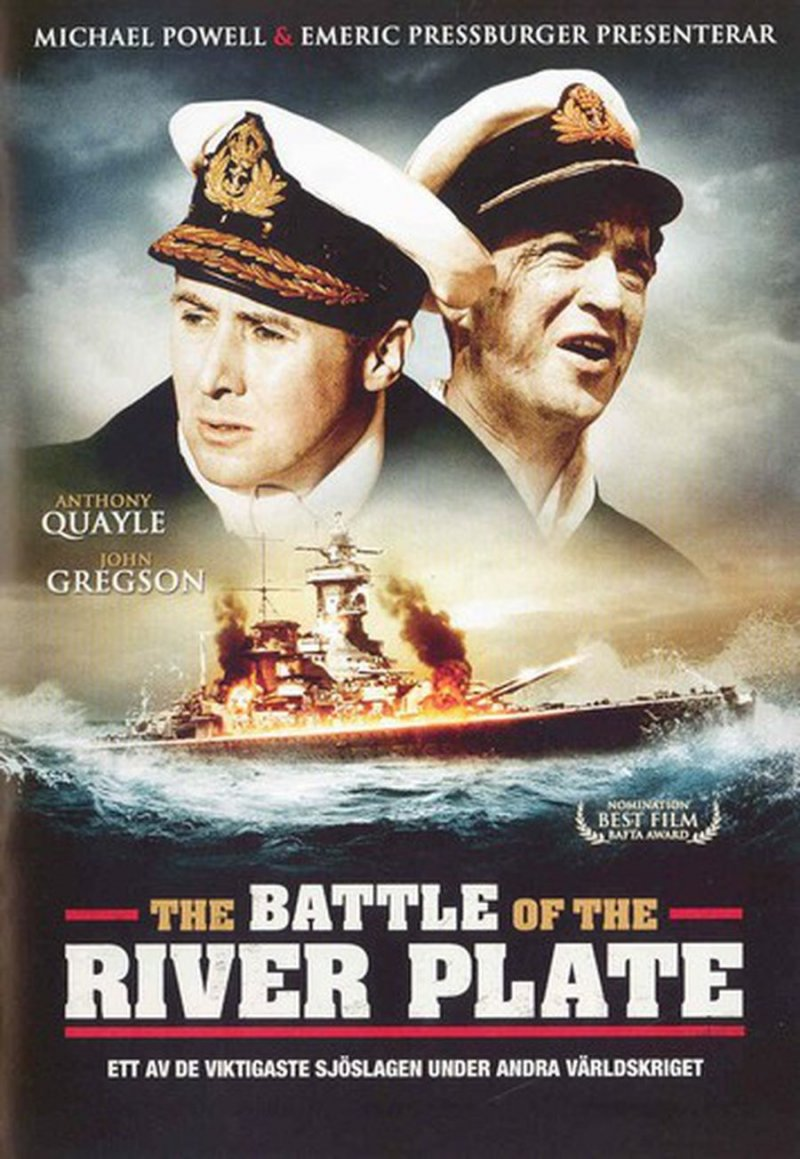 Image of   Battle Of The River Plate / Havets Tiger - DVD - Film