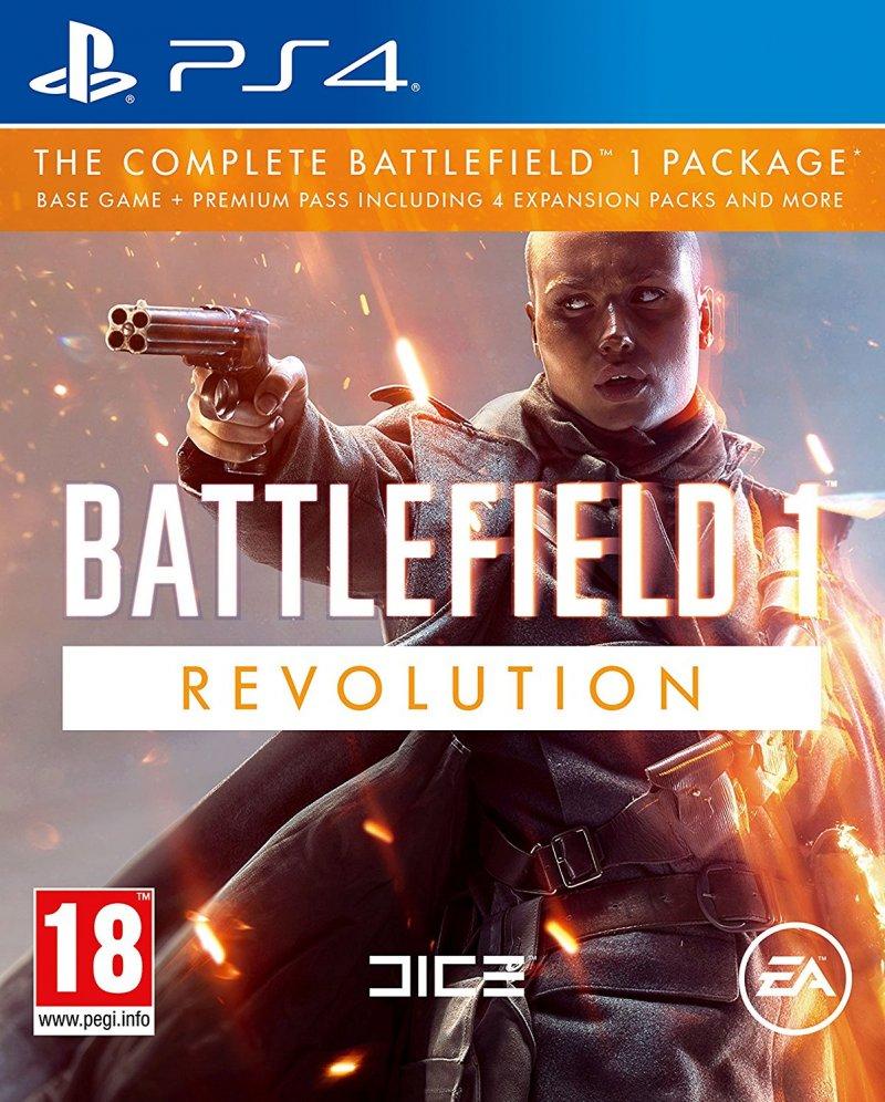Image of   Battlefield 1 Revolution - Uk / Arabisk - PS4