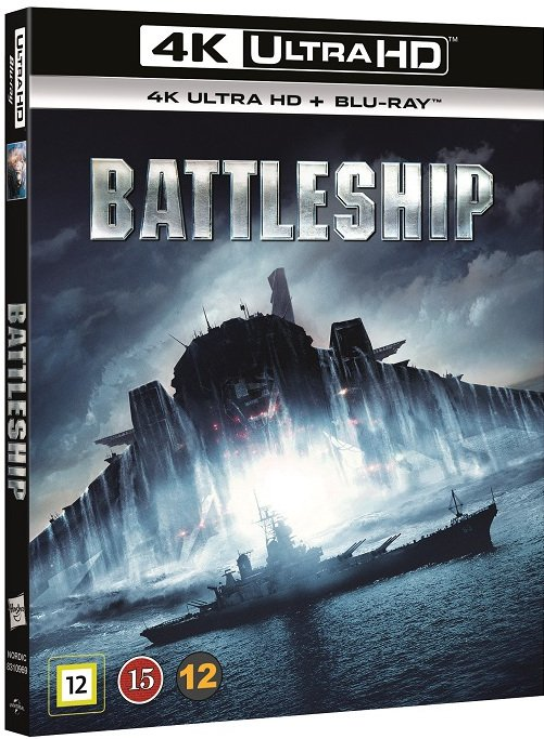 Image of   Battleship - 4K Blu-Ray