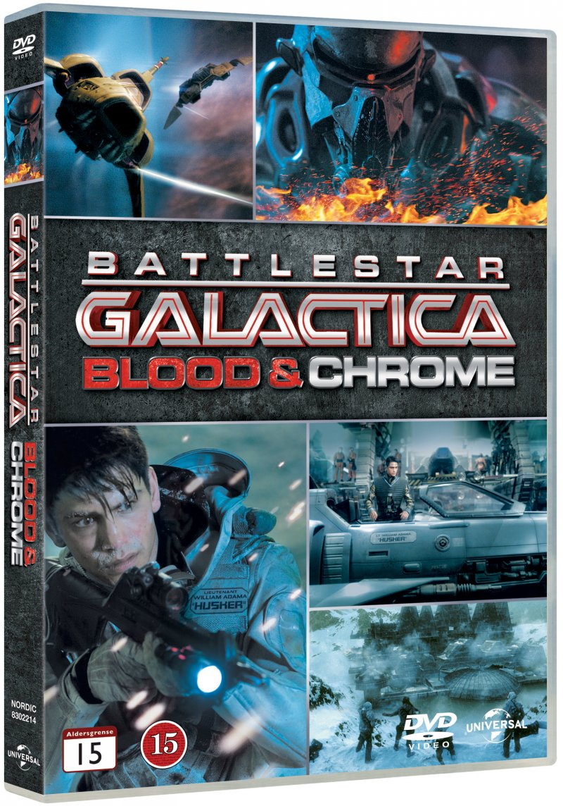 Image of   Battlestar Galactica: Blood And Chrome - DVD - Film