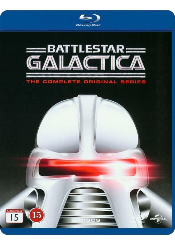 Image of   Battlestar Galactica: Den Komplette Originale Serie 78- 80 - Blu-Ray