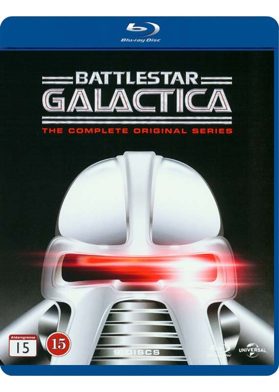 Image of   Battlestar Galactica: Den Komplette Originale Serie 78- 80 - Blu-Ray - Tv-serie