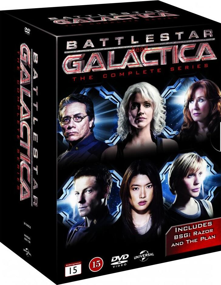 Image of   Battlestar Galactica Box - Den Komplette Serie - DVD - Tv-serie