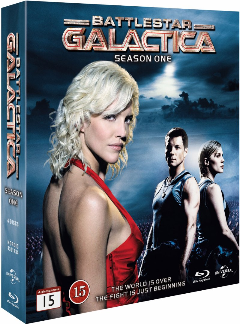 Image of   Battlestar Galactica - Sæson 1 - Blu-Ray - Tv-serie