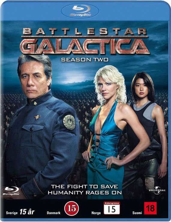 Image of   Battlestar Galactica - Sæson 2 - Blu-Ray - Tv-serie