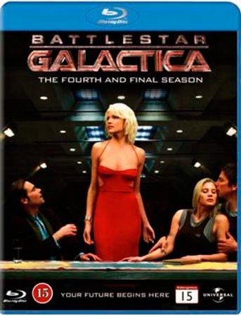 Image of   Battlestar Galactica - Sæson 4 - Blu-Ray - Tv-serie