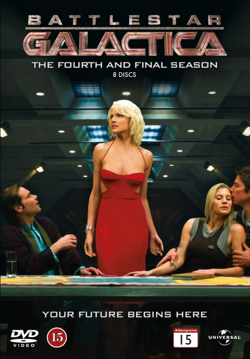 Image of   Battlestar Galactica - Sæson 4 - DVD - Tv-serie