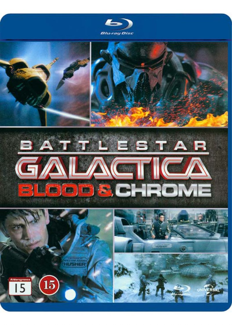 Image of   Battlestar Gallactica: Blood And Chrome - Blu-Ray