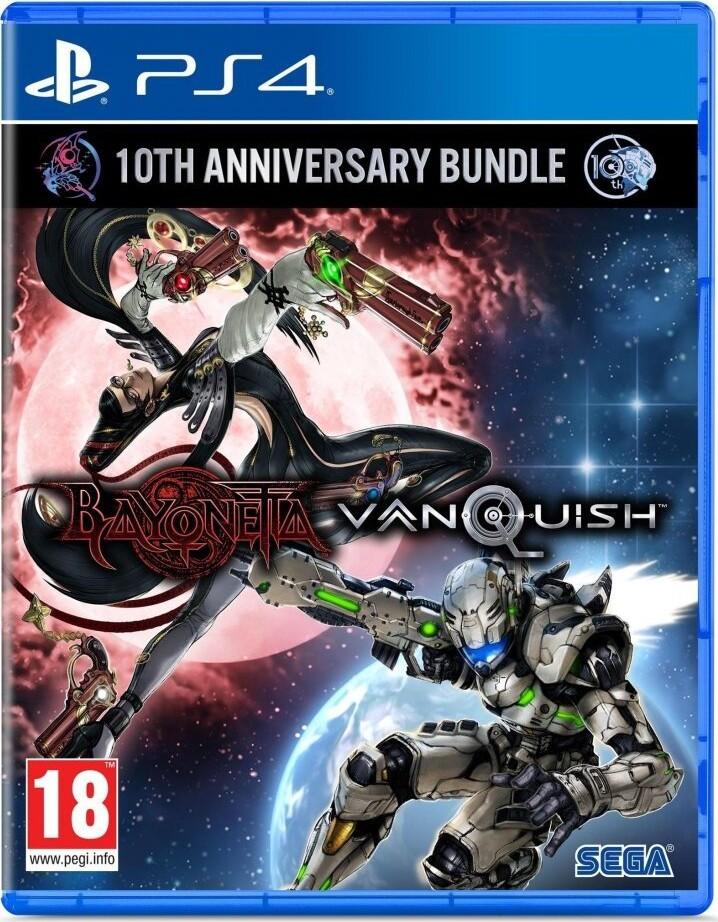 Image of   Bayonetta & Vanquish 10th Anniversary Bundle - PS4