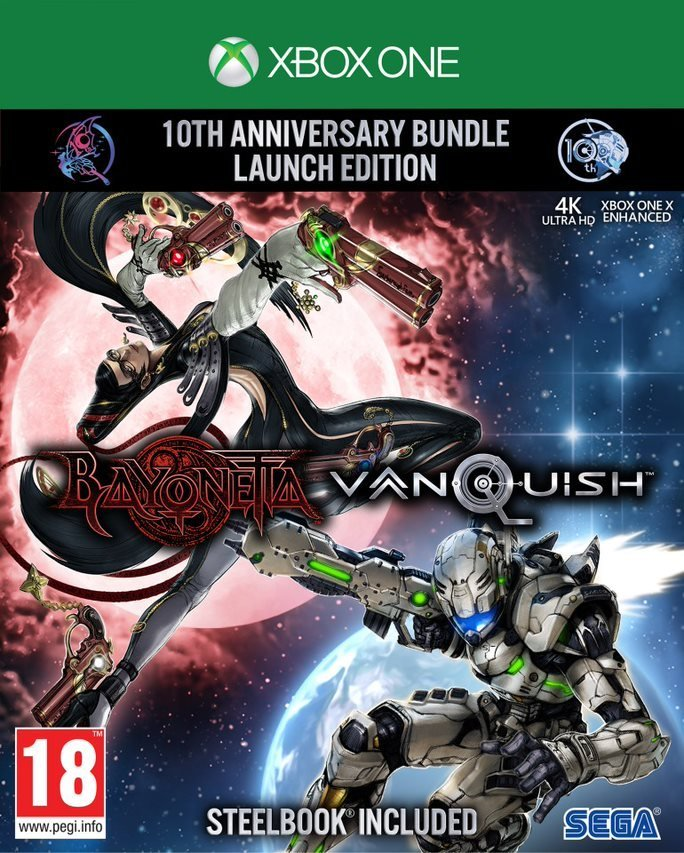 Image of   Bayonetta & Vanquish 10th Anniversary Bundle - Xbox One
