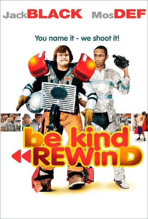 Image of   Be Kind Rewind - DVD - Film