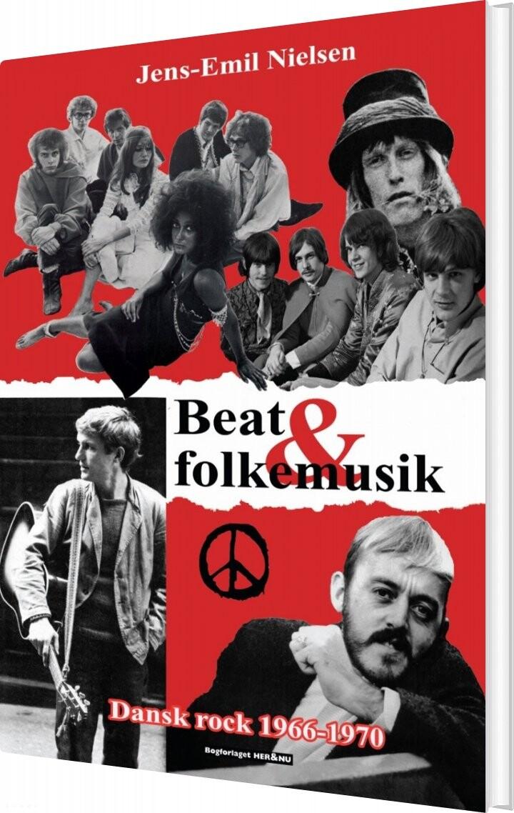 Billede af Beat Og Folkemusik - Jens-emil Nielsen - Bog